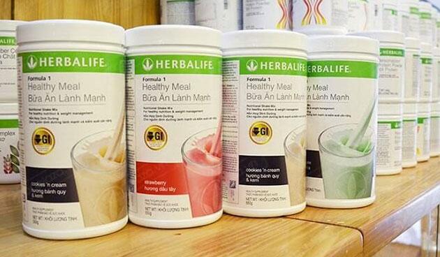 Herbalife f1 tại shop
