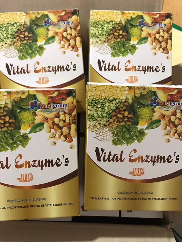 Vital Enzymes Chính hãng tại Thảo Nhi shop