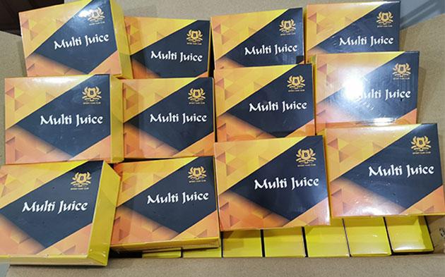 Multi Juice tại kho hàng