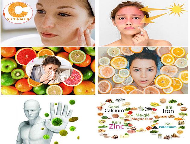 Tác dụng đến các vấn đề thiếu Vitamin C Nutrilite Bio C Plus