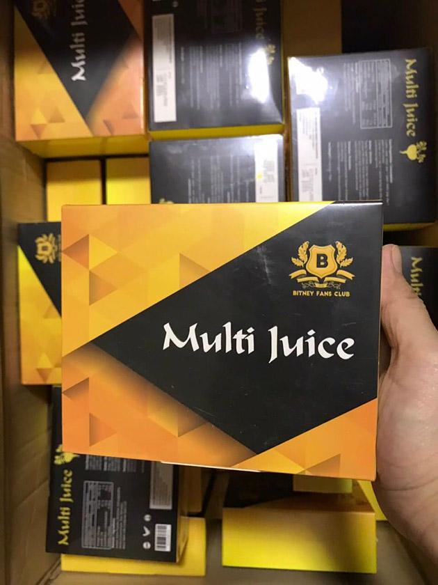 Sản phẩm Multi Juice tại Thảo Nhi shop