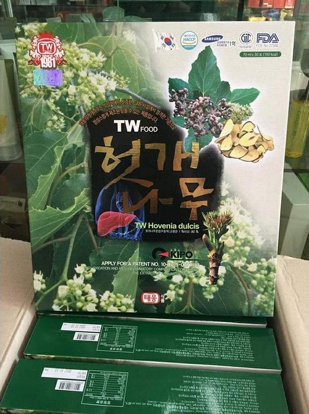Nước bổ gan Hàn Quốc tại Thảo Nhi shop