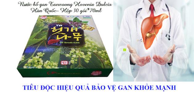 Nước uống bổ gan Hàn Quốc