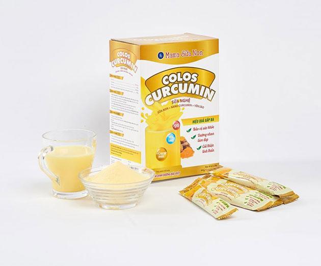 Sản phẩm Sữa nghệ Colos Curcumin