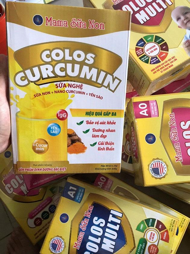 Sữa nghệ Colos Curcumin tại Thảo Nhi shop