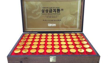 Sản phẩm An cung ngưu hoàng Hàn Quốc