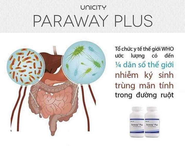 Cách thải độc ký sinh trùng của paraway plus