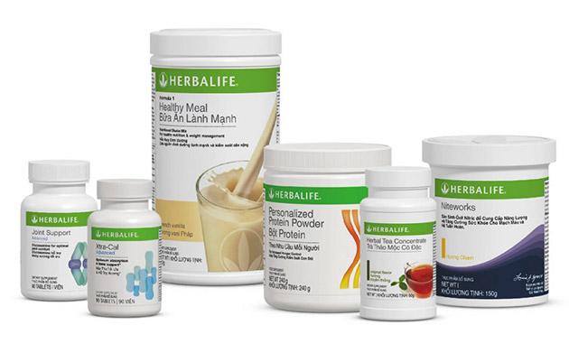 Herbalife joint support và các dòng sản phẩm khác cảu herbalife