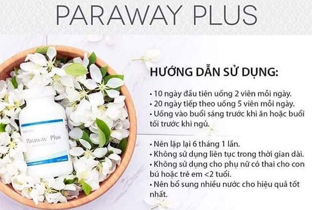 Hướng dẫn sử dụng paraway plus