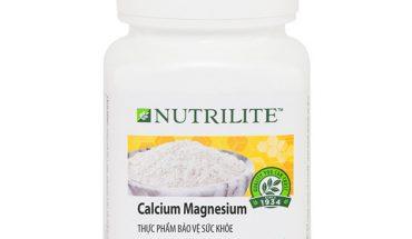 Sản phẩm Nutrilite calcium magnecium