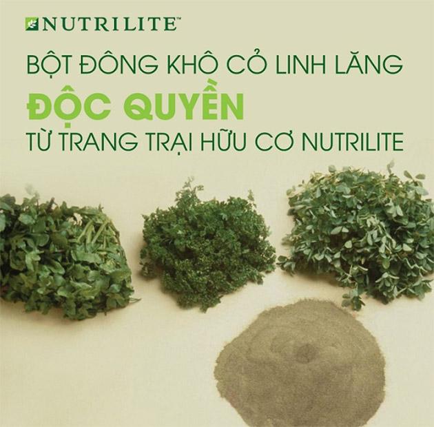 Thành phần độc quyền Sản phẩm Nutrilite calcium